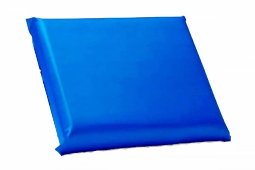 Travesseiro de Espuma Hospitalar 60 x 40 x 10 cm Com Capa de Courvin