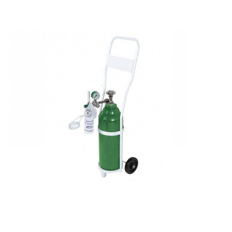 Unidade Móvel Para Oxigenação Com Cilindro Alumínio 5 Litros e Carinho UM210B - Unitec