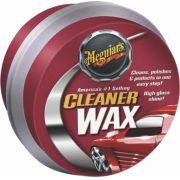 Cera Cleaner Wax em Pasta - A1214  Meguiars 311g