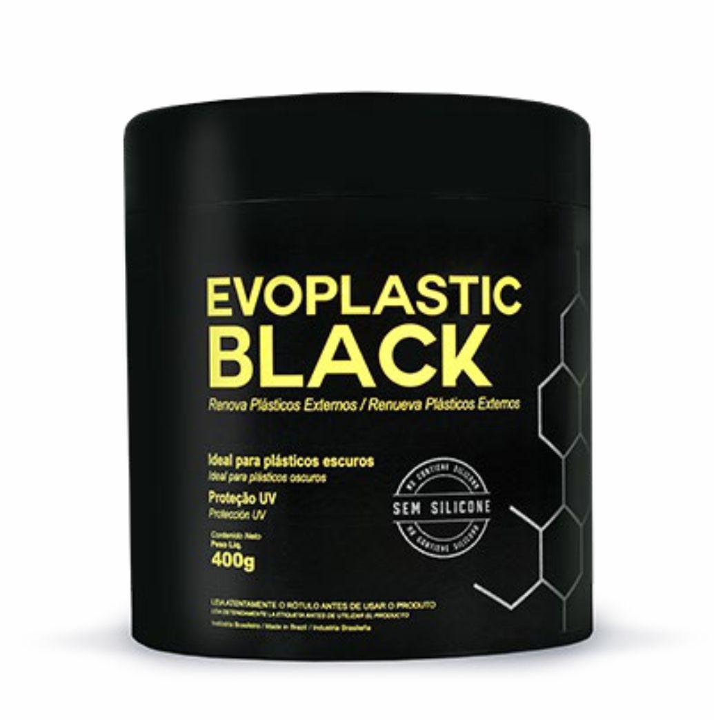 Renova Plastico Externos Evoplastic Black Evox 400g