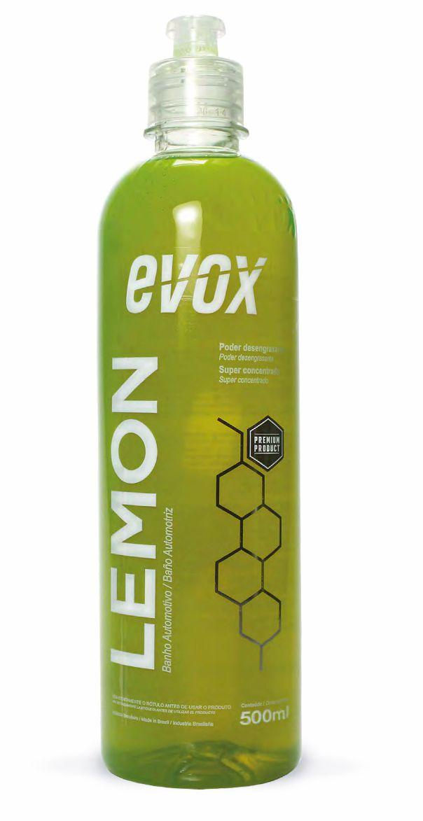 Shampoo Desengraxante Lemon 1:150 Evox 500ml