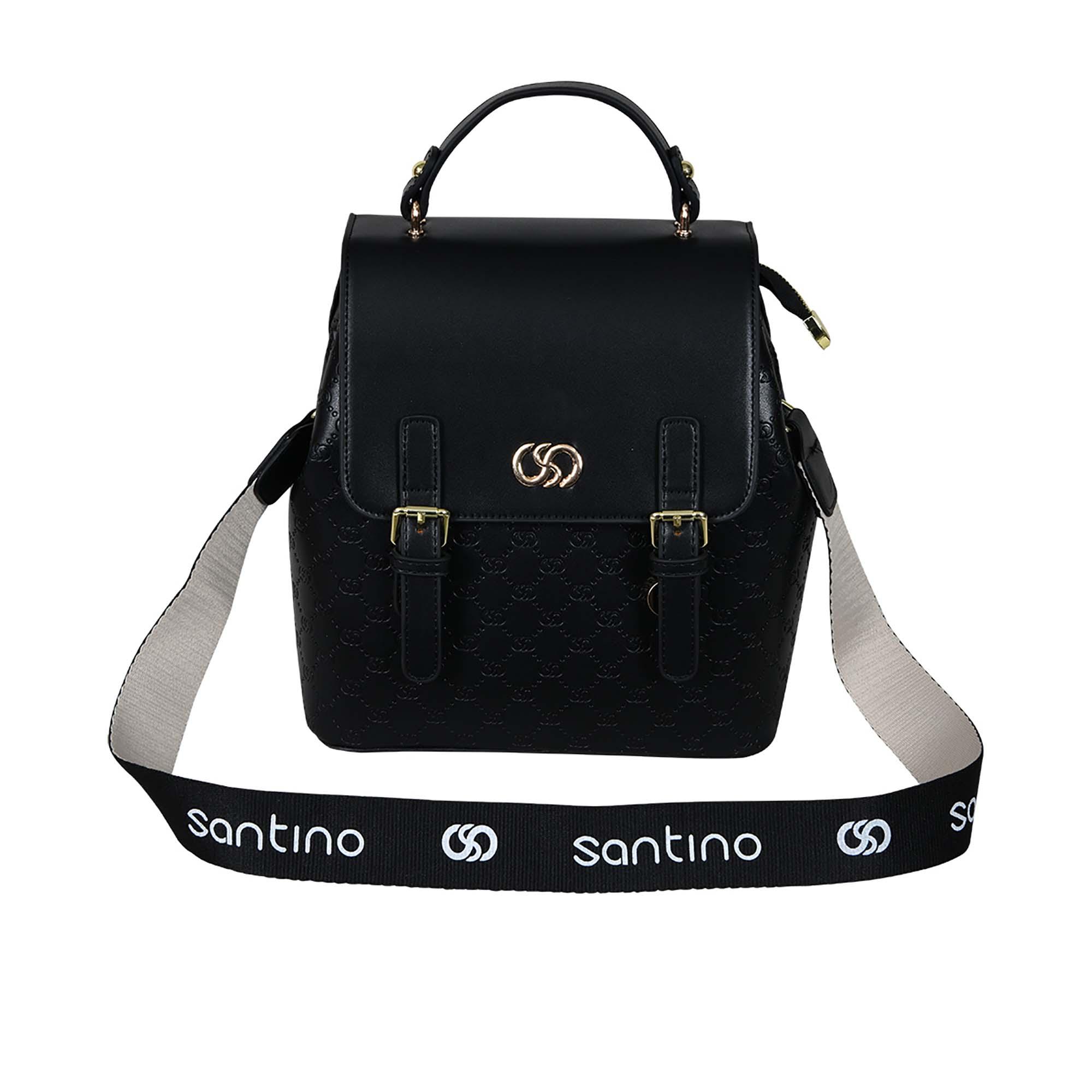Bolsa de Mão Amã Couro Sintético Santino - SAB119U