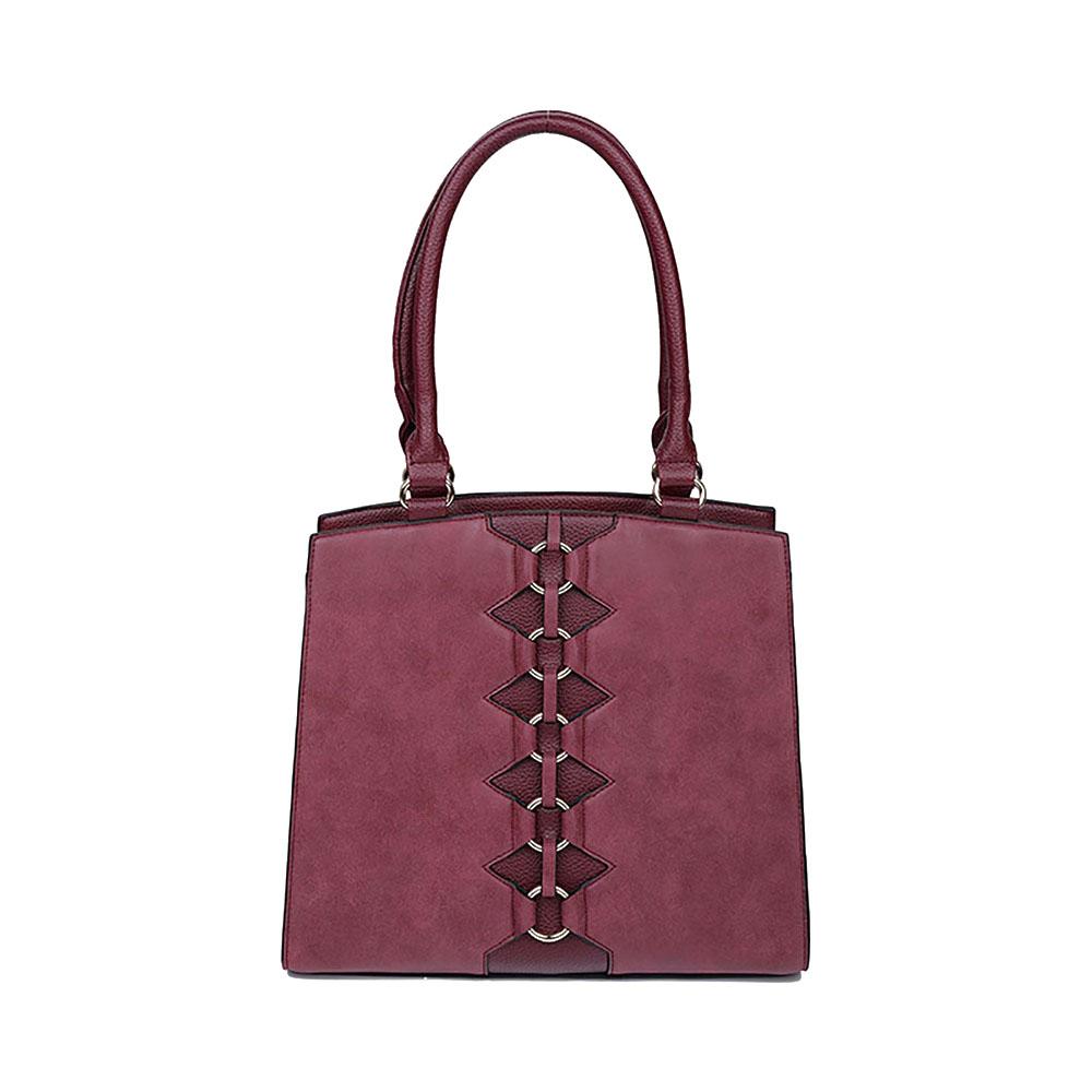 Bolsa de Mão Hermes Couro Sintético Queens Paris - QPB1913