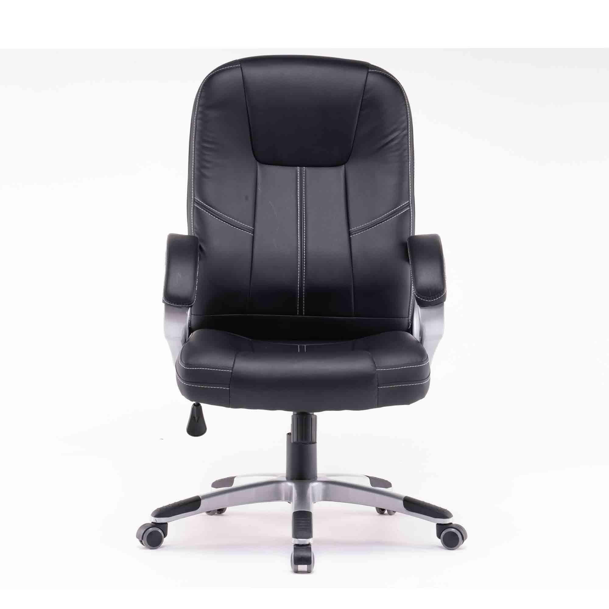 Cadeira de Presidente PU Santino Cor: Preta