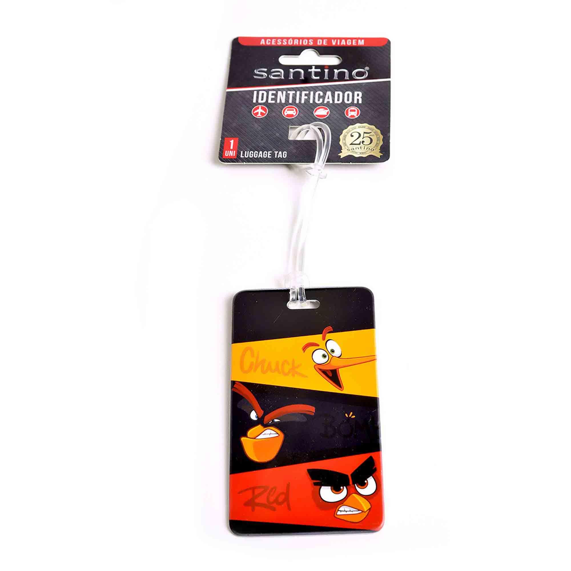 IDENTIFICADOR ANGRY BIRDS ABS COLORIDO - ABID800330