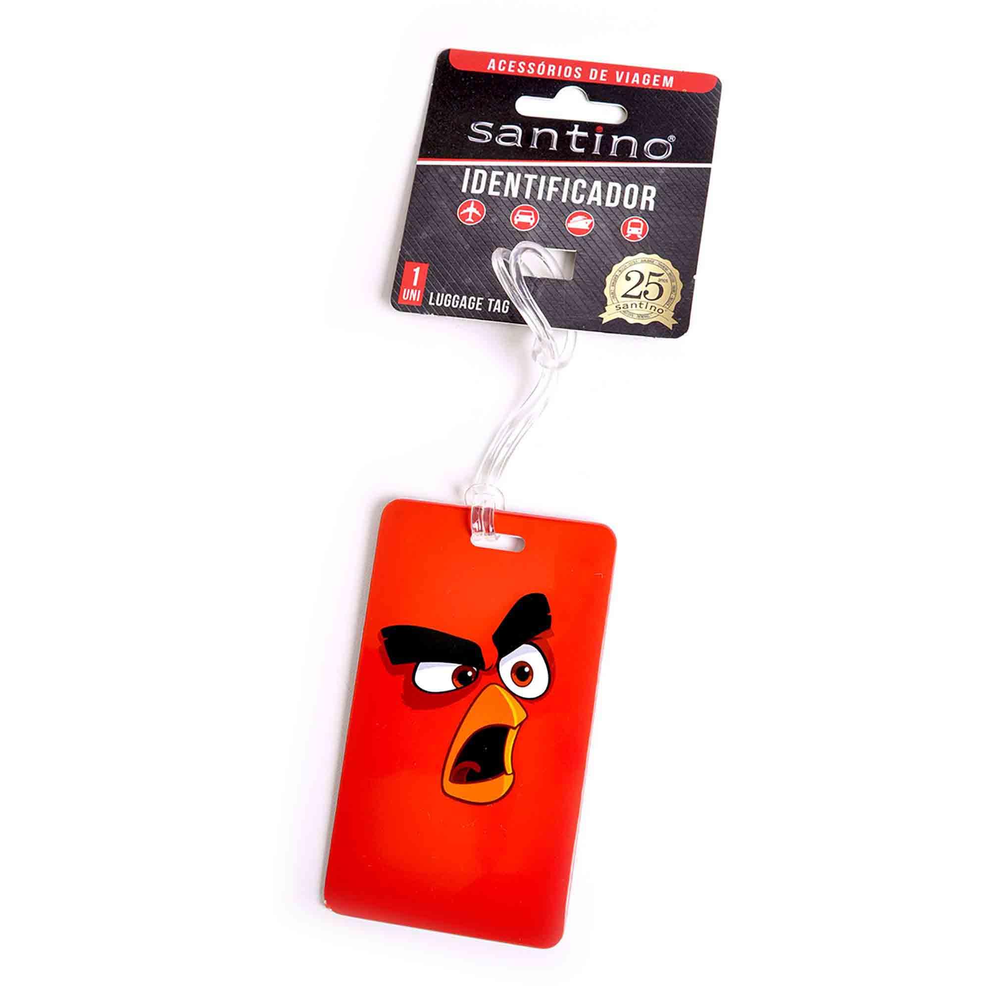 IDENTIFICADOR ANGRY BIRDS ABS VERMELHO - ABID800103