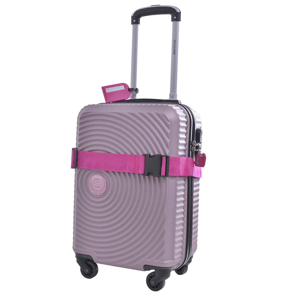 Kit Acessórios de Viagem Viena Santino Rosa - SKAV800105