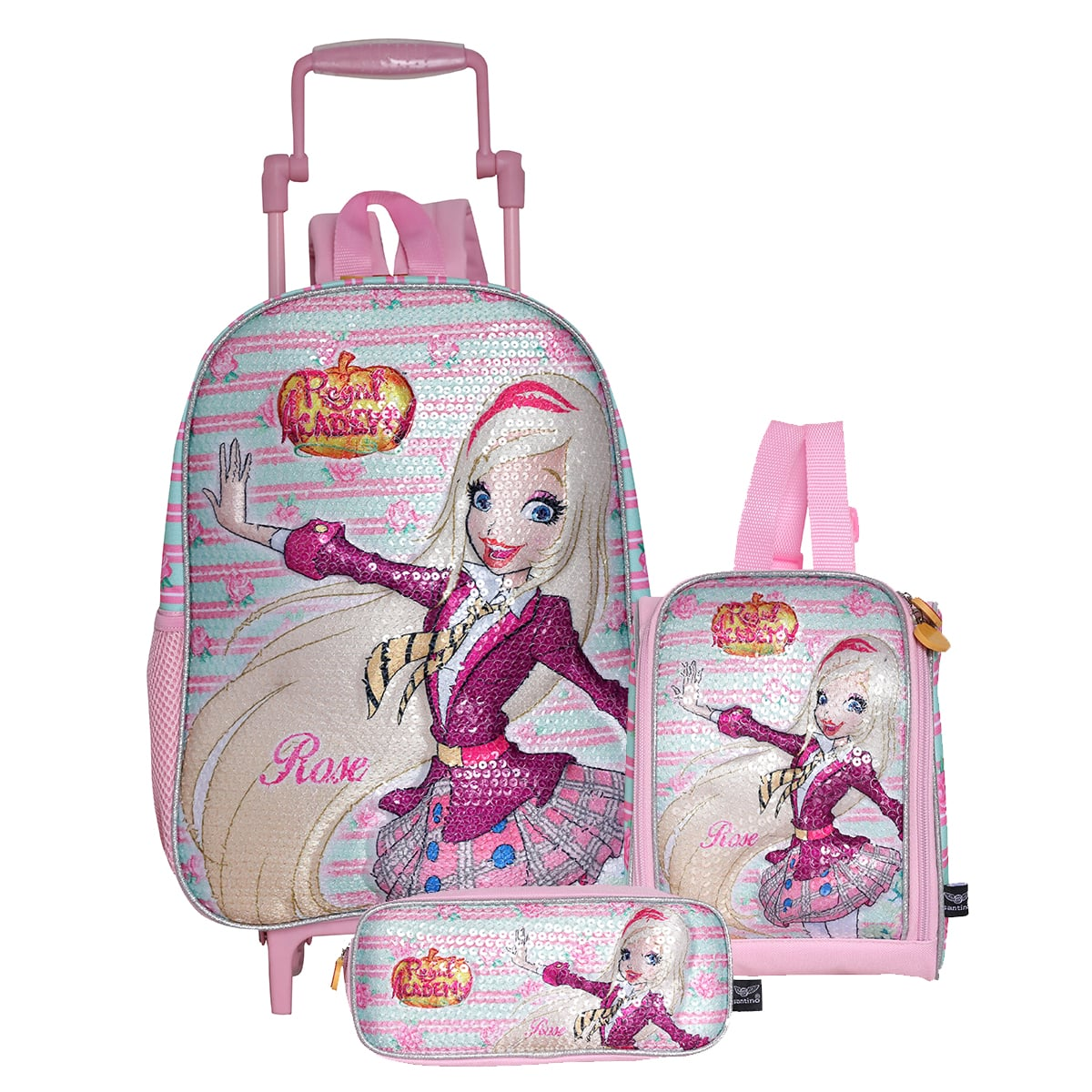 KIT MOCHILA PINK POL REGAL ACAD - RAK2U47