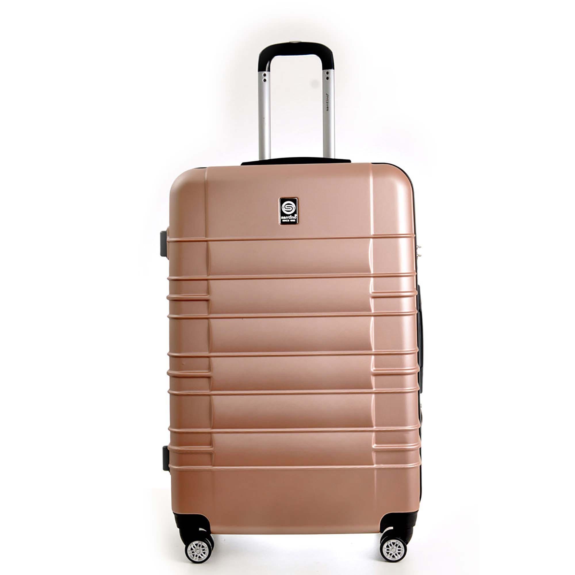 MALA VIAGEM SANT ABS MED TSA ROSA - ASAV8001M05