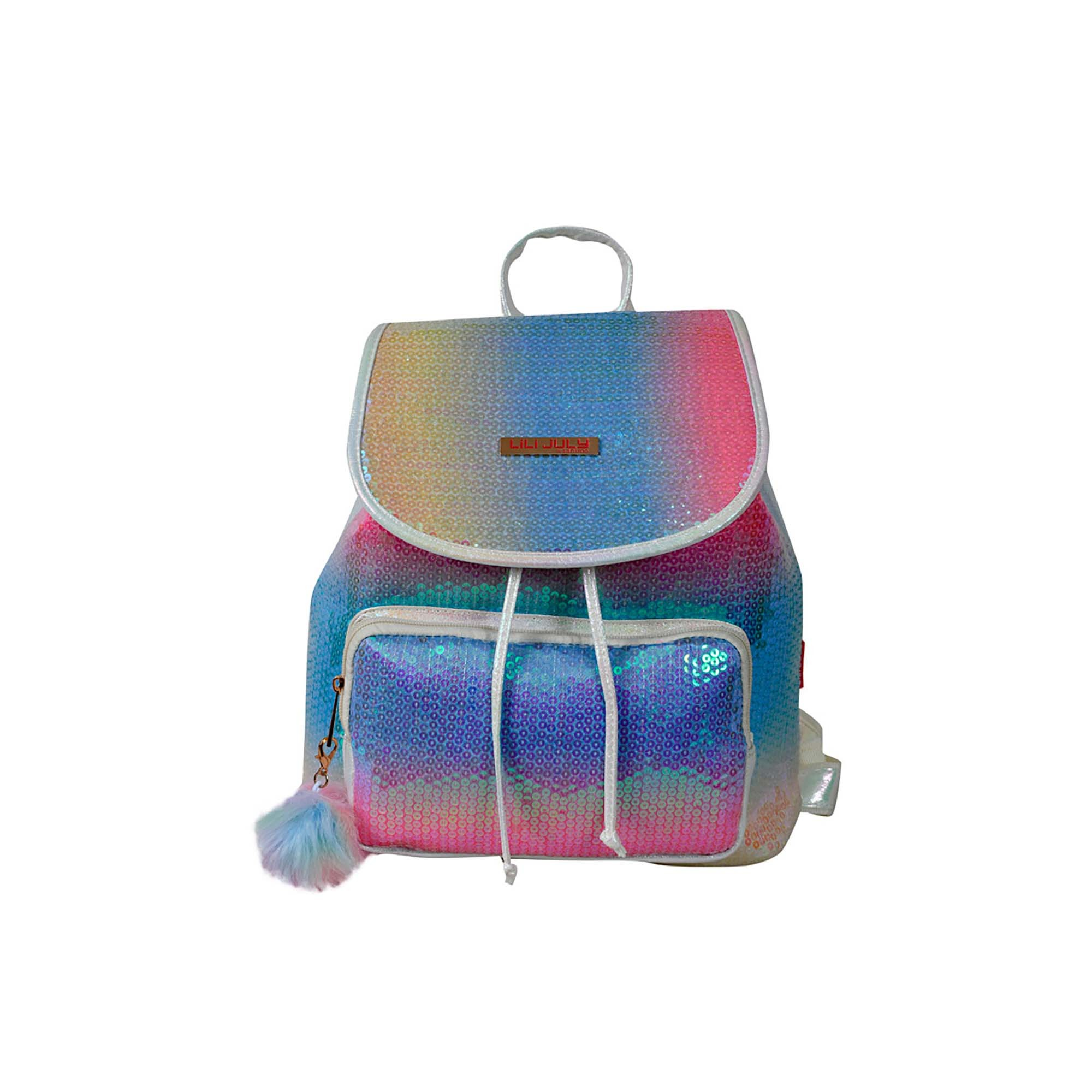 MOCHILA COLORIDA INFANTIL POL LILI JULY - LJM26U30