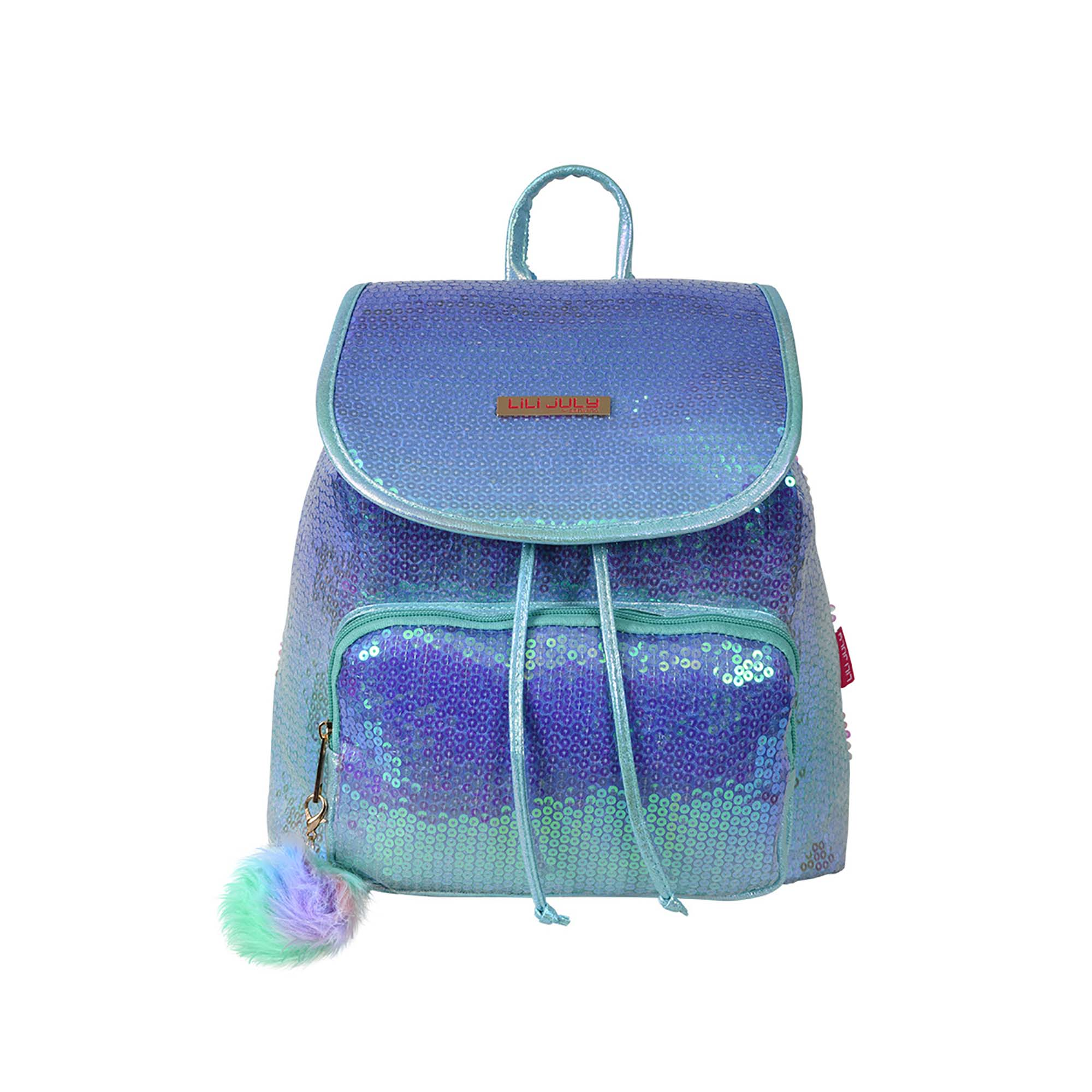 MOCHILA COLORIDA INFANTIL POL LILI JULY - LJM28U30