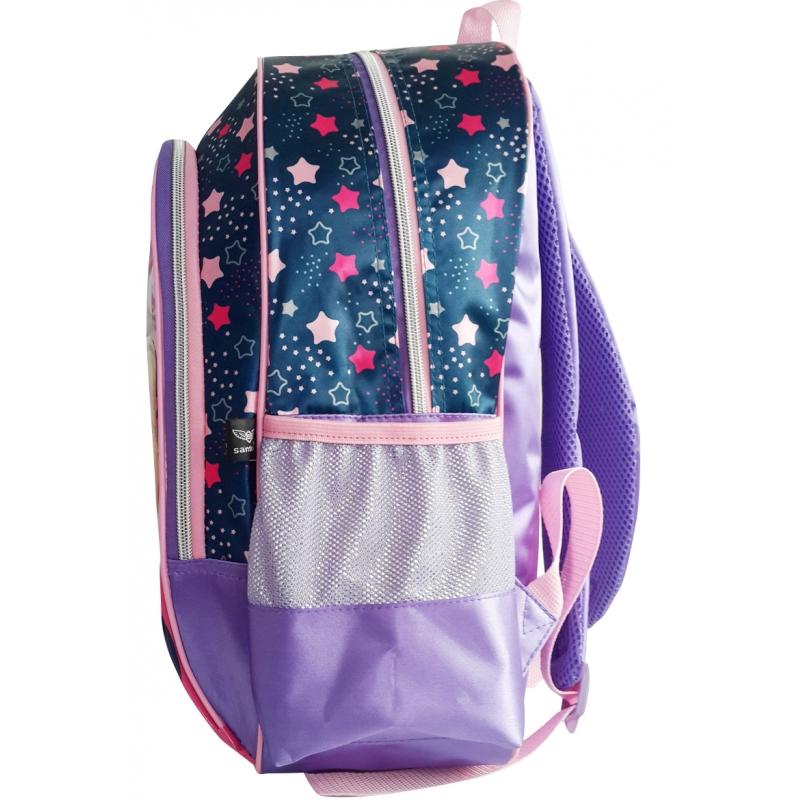Mochila Infantil Princess Blog Poliéster Sweet Girl Pink