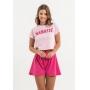 Shorts Nogah Godê Pink