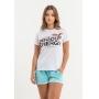 T-shirt Nogah Good Energy Branca