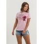 T-shirt Nogah Sorriso Rosa