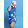 Vestido Nogah Baloon Azul
