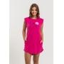 Vestido Nogah Há Flores em Tudo Pink
