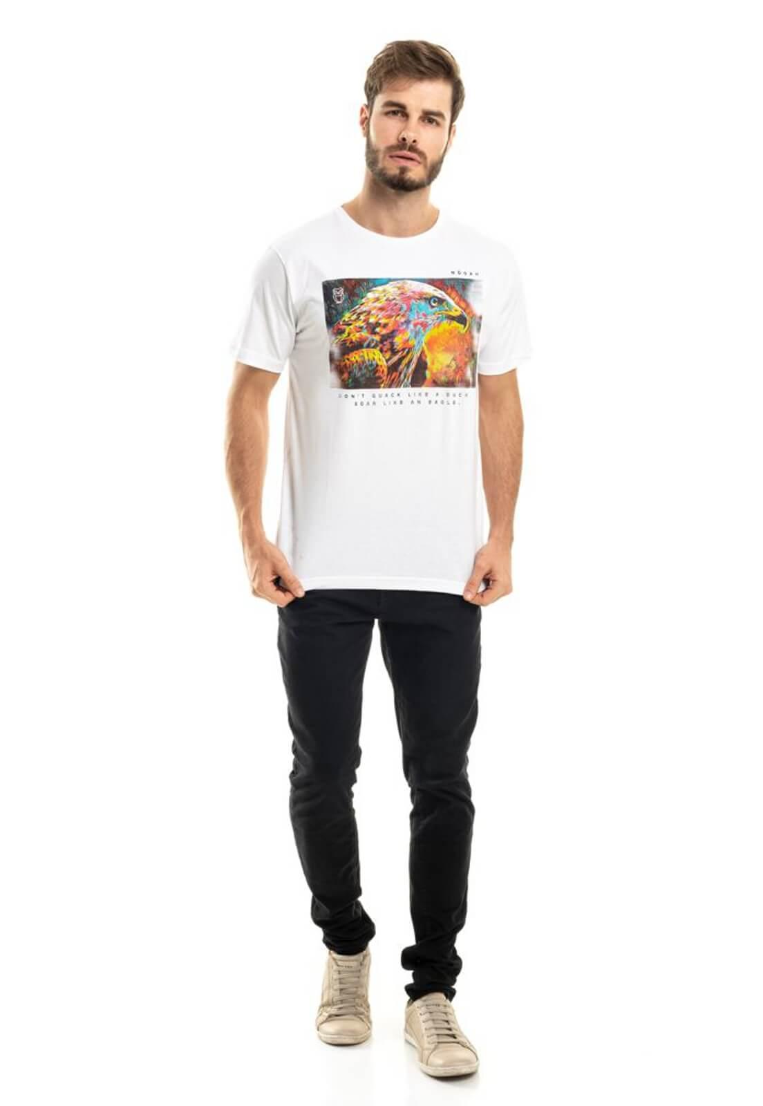 Camiseta Águia Branca