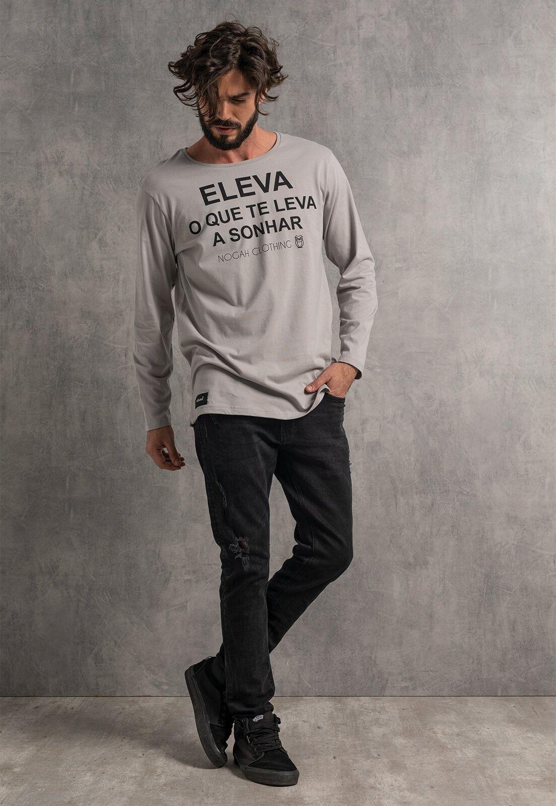 Camiseta Longline Nogah Eleva