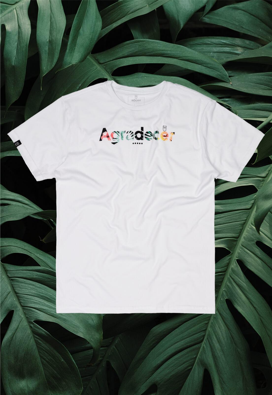 Camiseta Nogah Agradecer