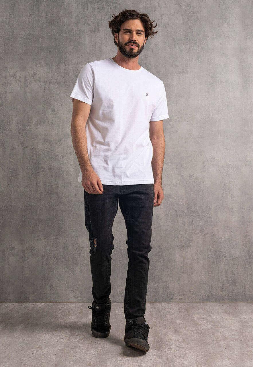 Camiseta Nogah Básica Branca