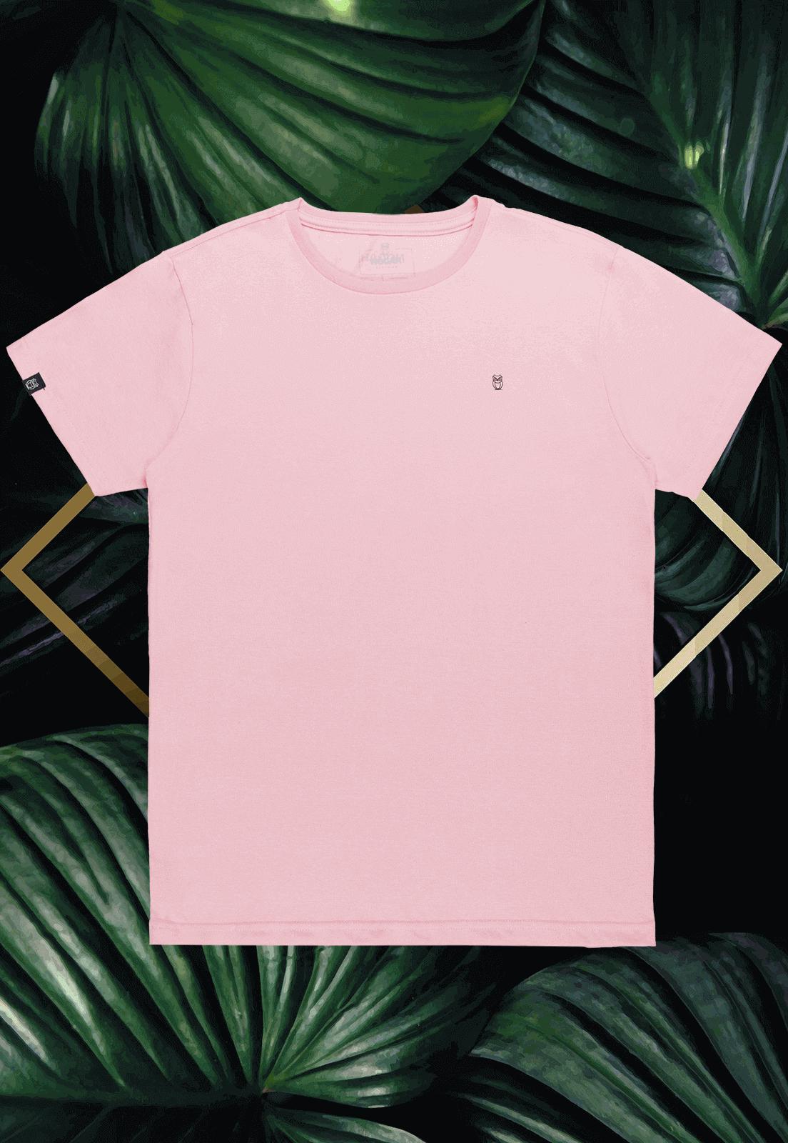Camiseta Nogah Básica Rosa