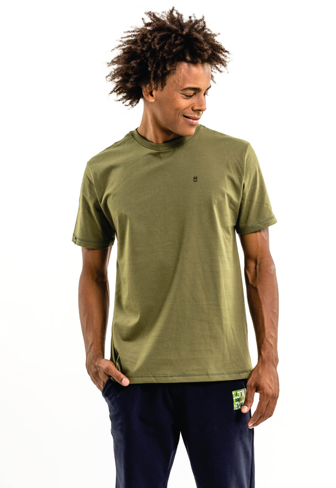 Camiseta Nogah Básica Verde