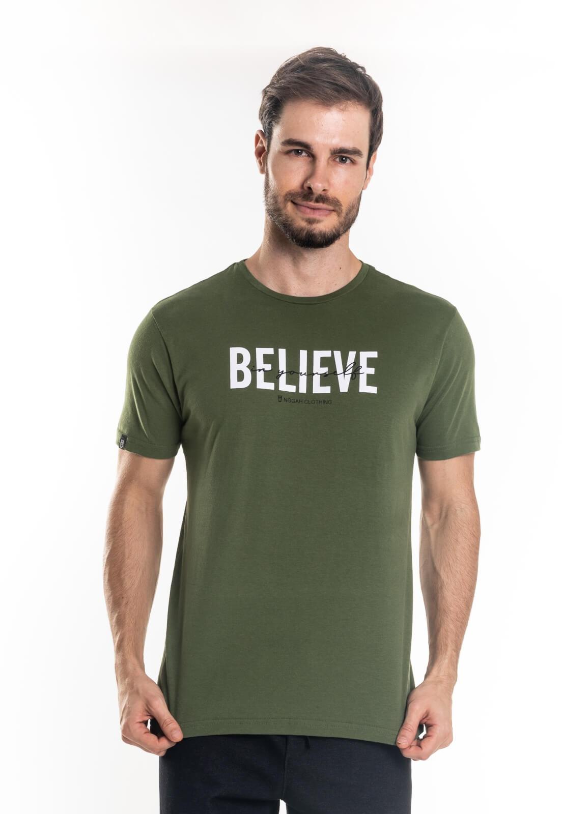 Camiseta Nogah Believe