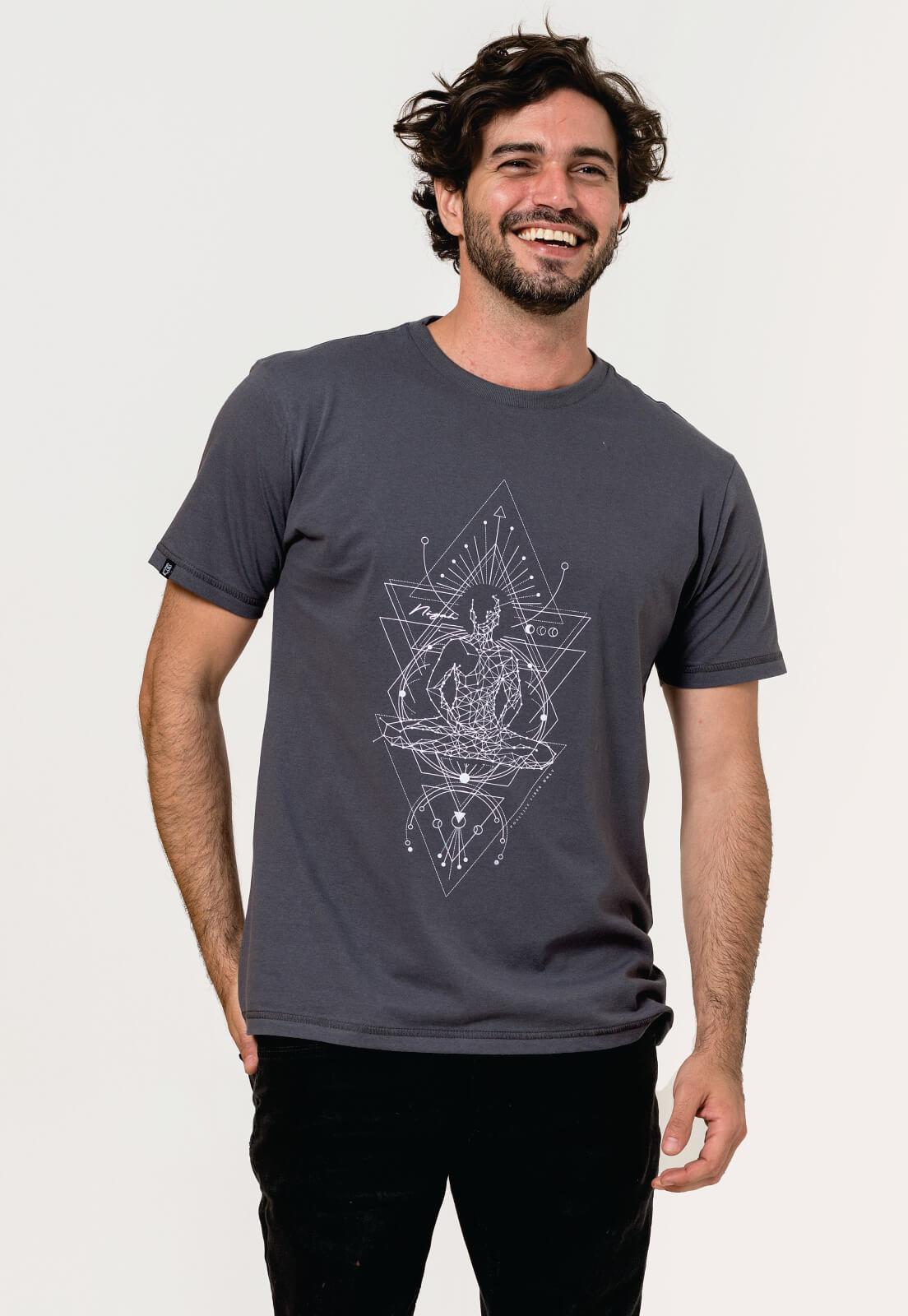 Camiseta Nogah Chakras Chumbo