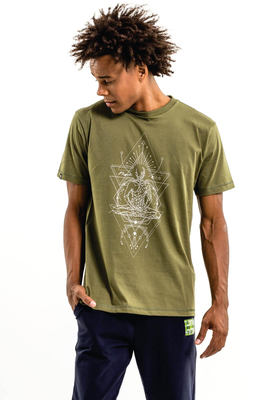 Camiseta Nogah Chakras Verde
