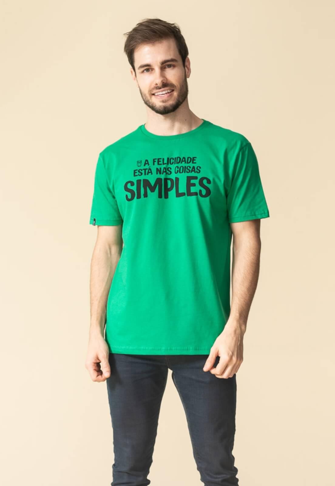Camiseta Nogah Coisas Simples Verde
