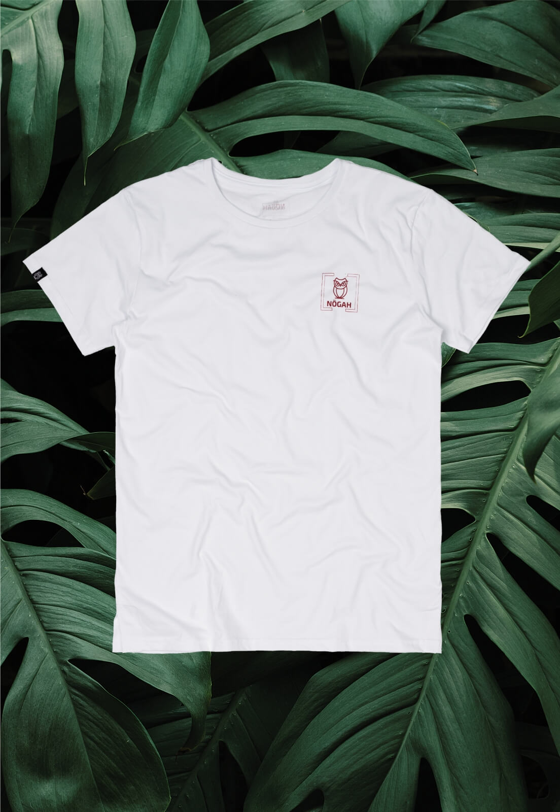 Camiseta Nogah Coruja Bolso