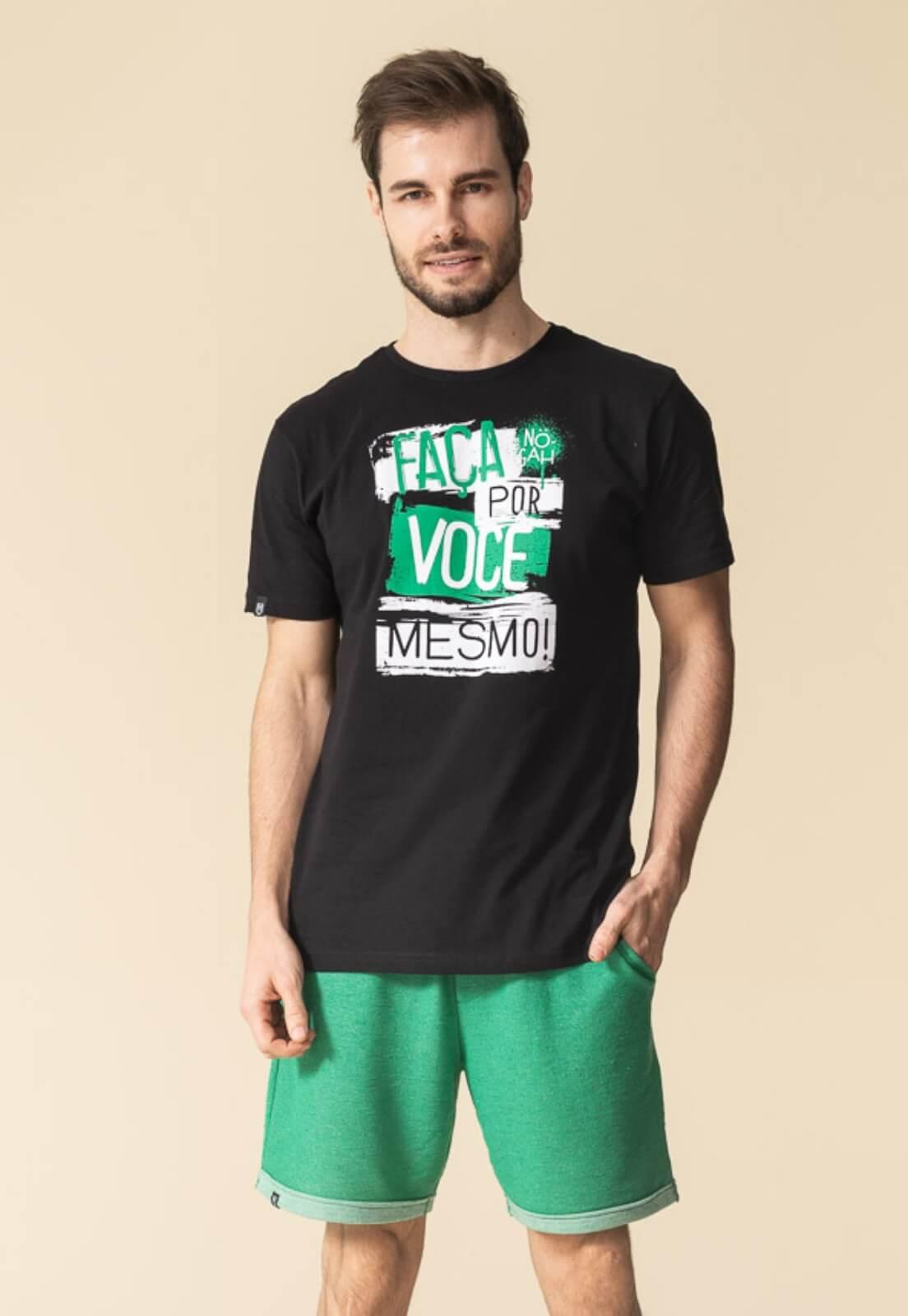 Camiseta Nogah Faça Você Mesmo Preta