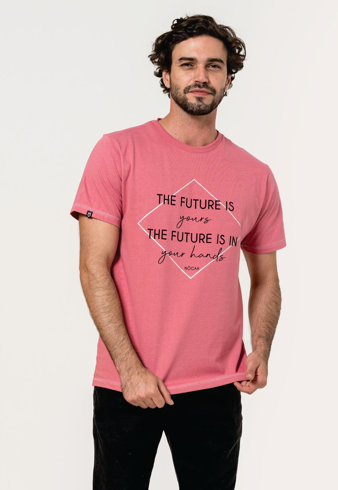 Camiseta Nogah Future Vinho