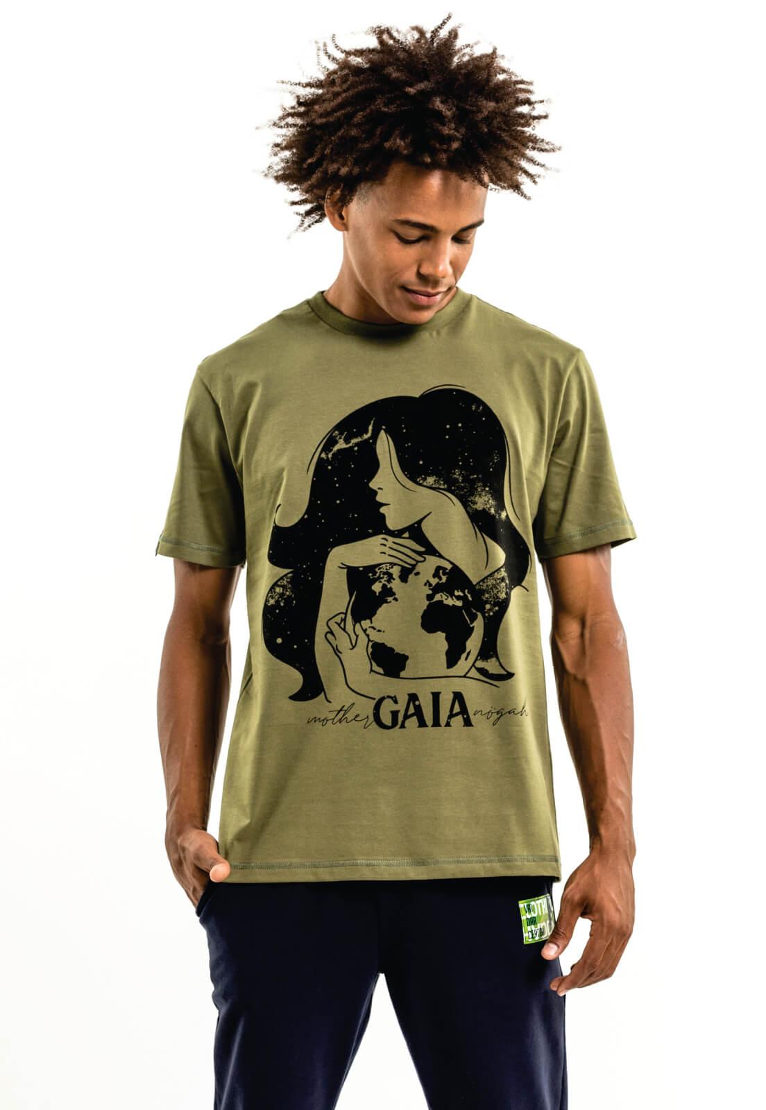 Camiseta Nogah Gaia Verde