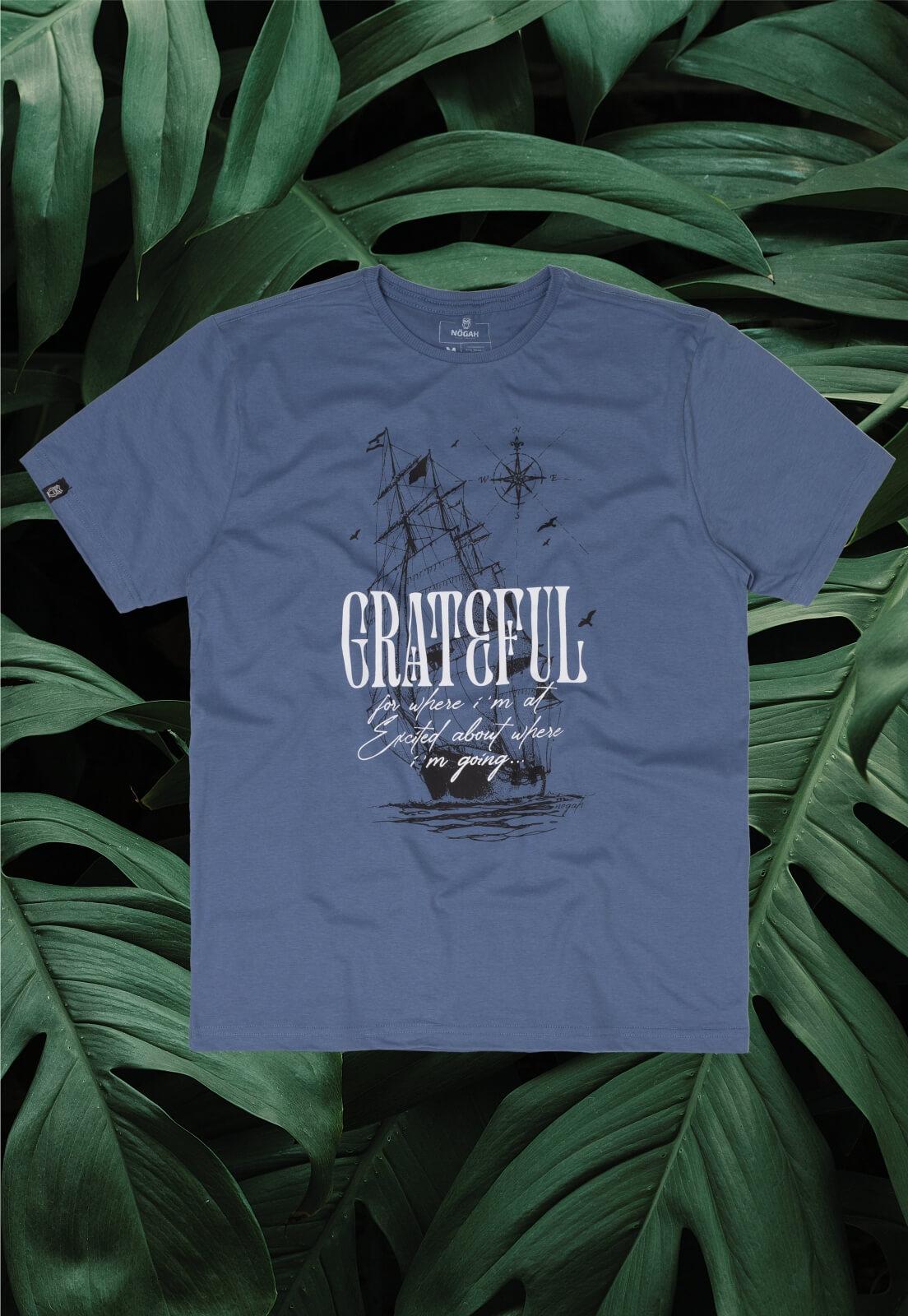 Camiseta Nogah Grateful Ship