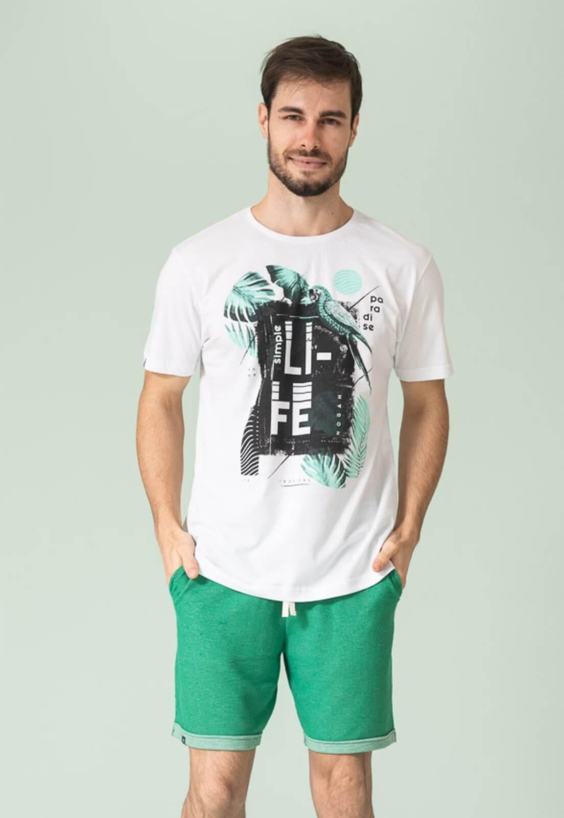 Camiseta Nogah Life Branca