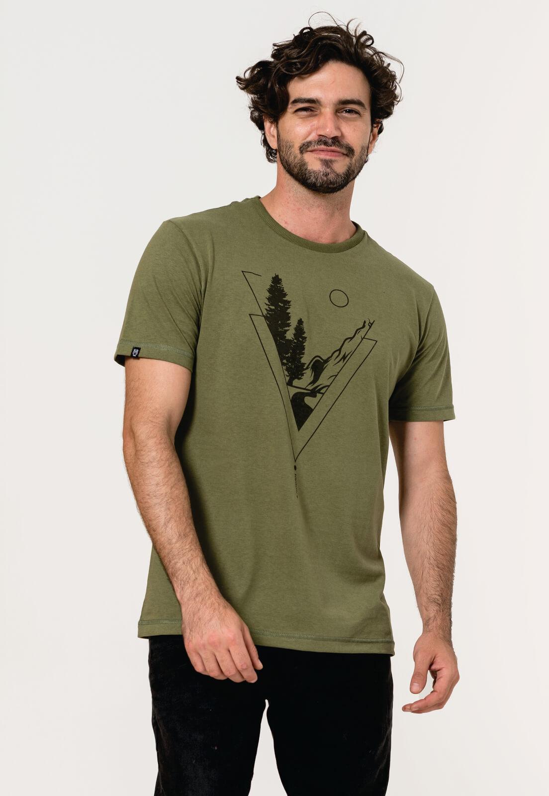 Camiseta Nogah Mountain Verde