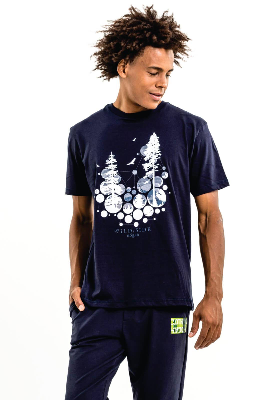 Camiseta Nogah Neve Marinho