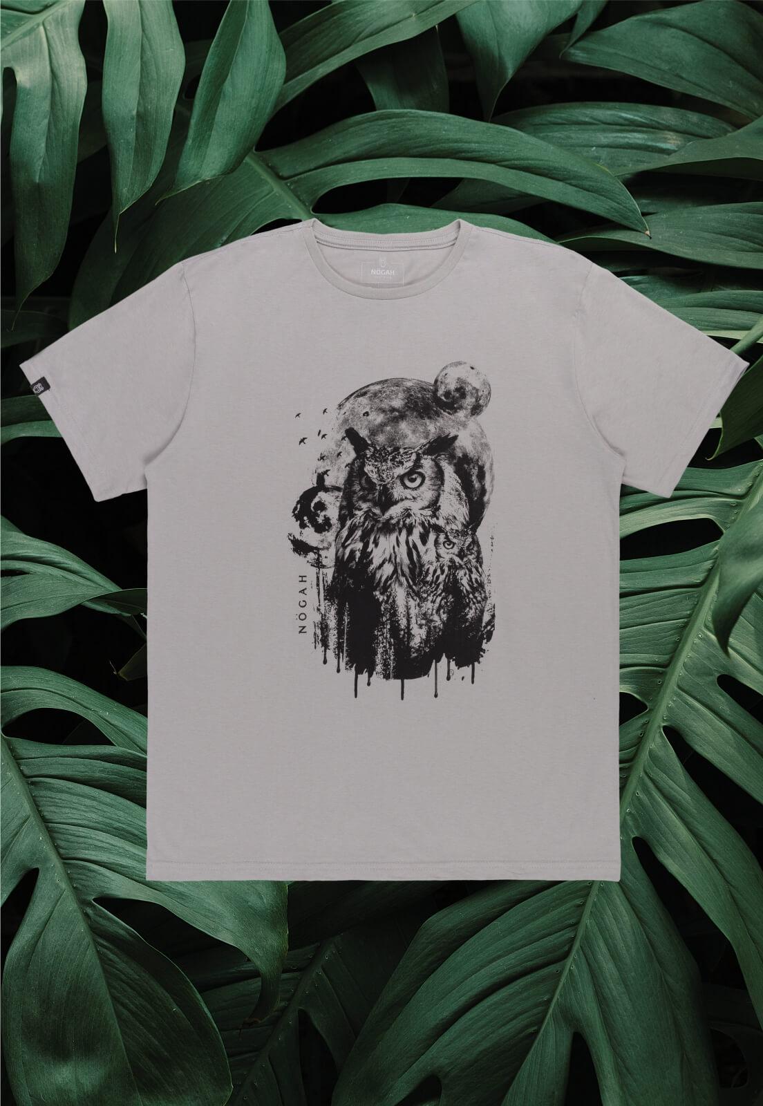 Camiseta Nogah Owl Moon