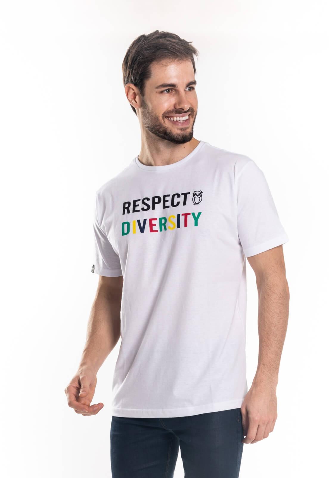Camiseta Nogah Respect Diversity