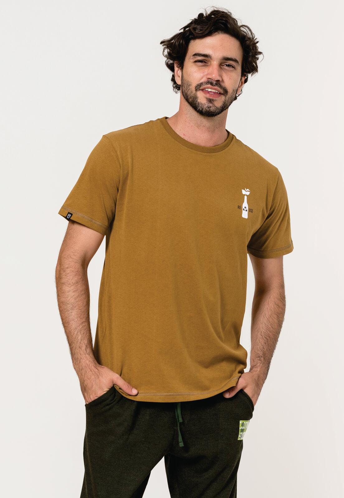 Camiseta Nogah Reuse Caramelo