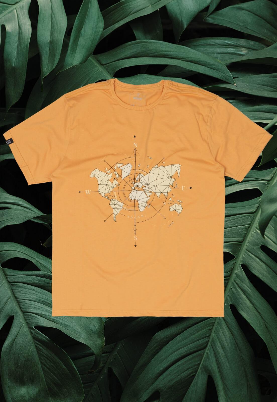 Camiseta Nogah Rosa dos Ventos
