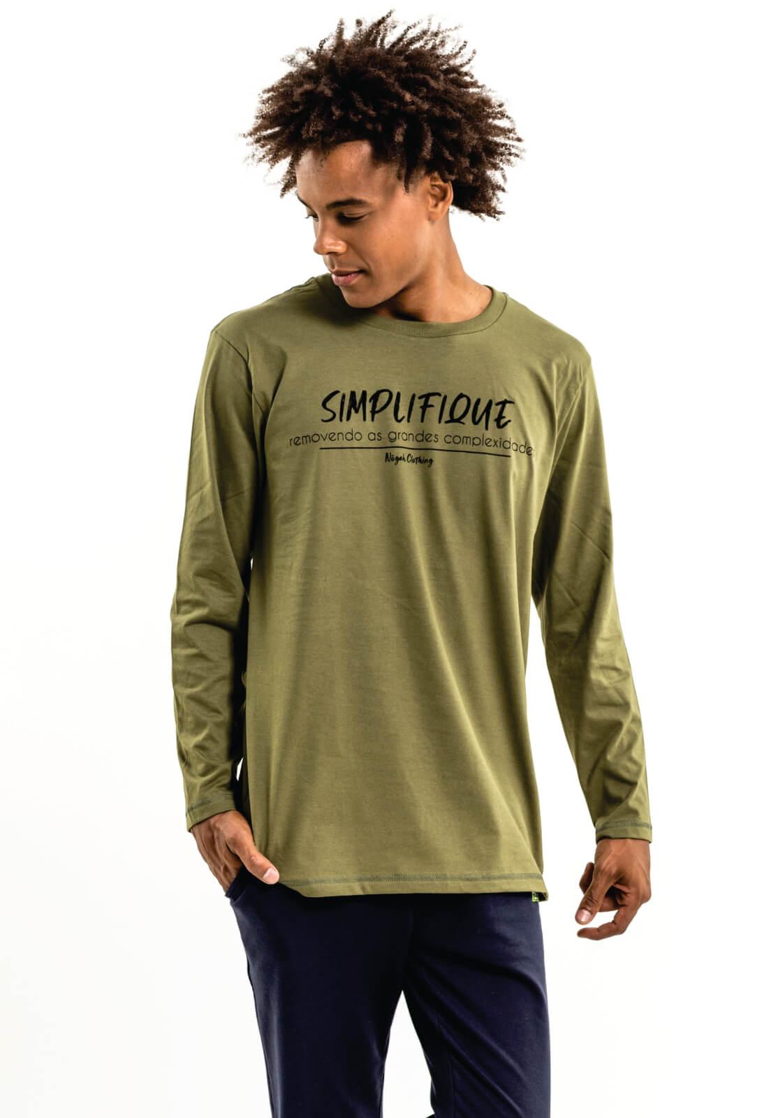 Camiseta Nogah Simplifique Verde