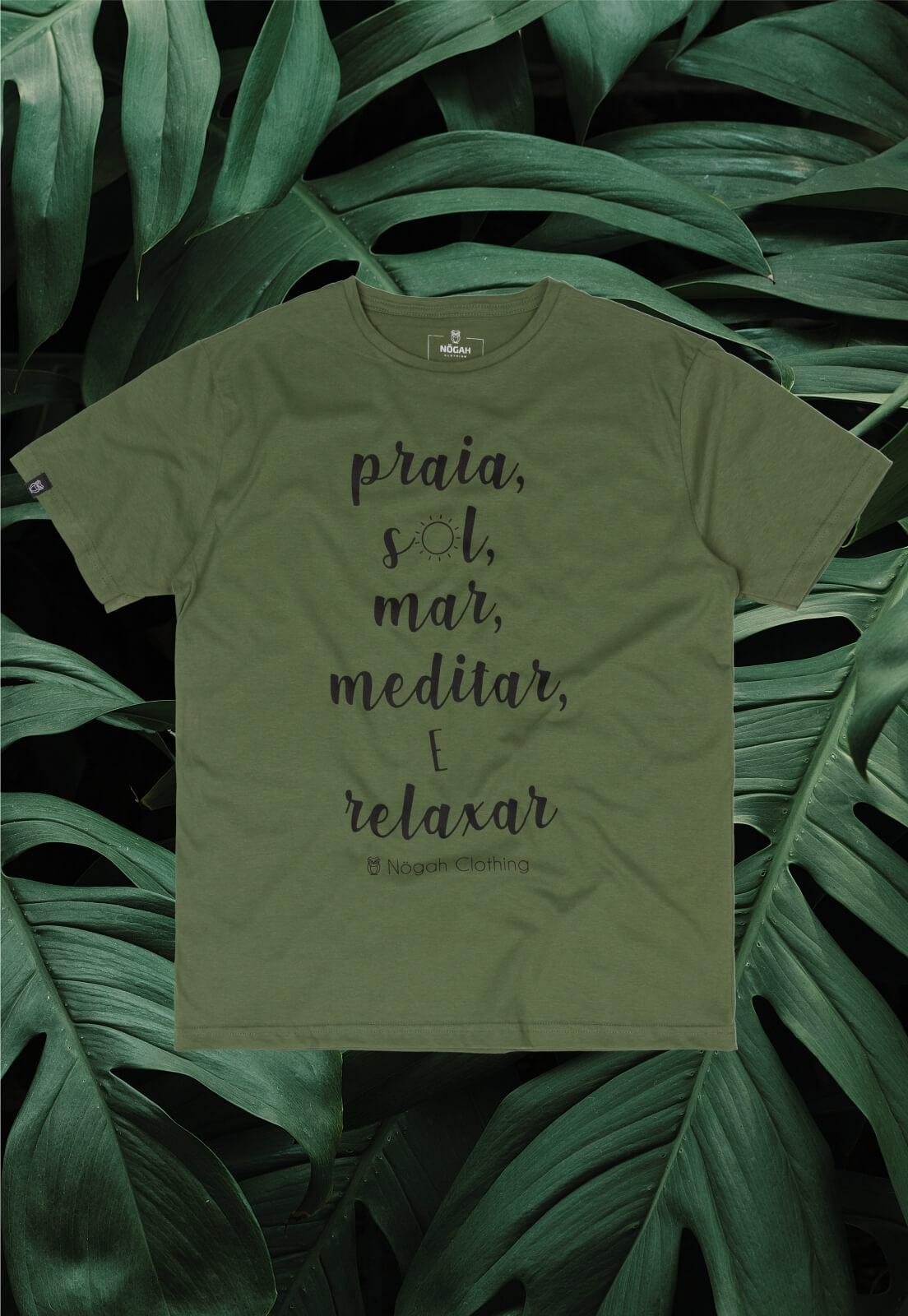 Camiseta Nogah Sol Mar Meditar