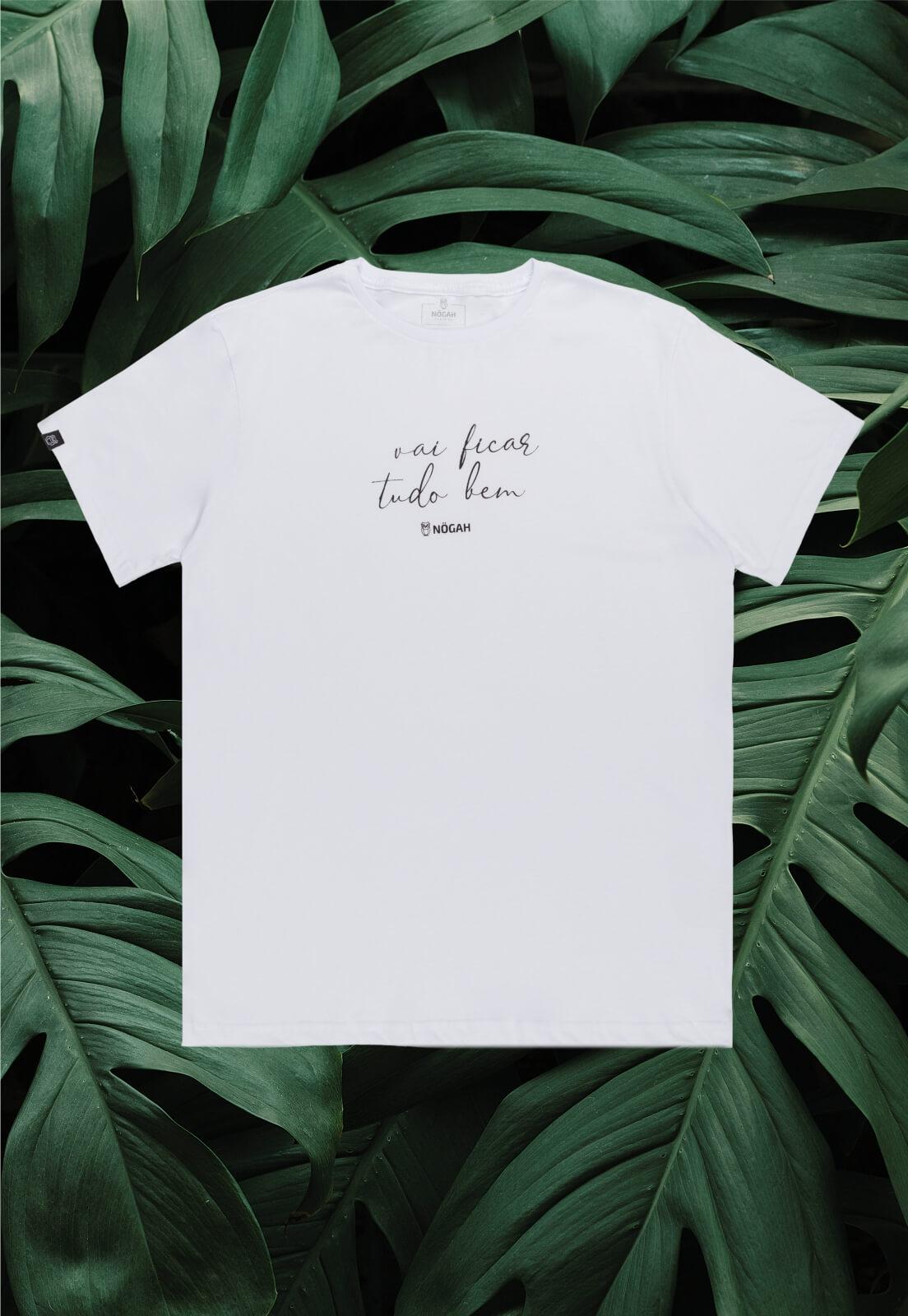 Camiseta Nogah Vai Ficar Tudo Bem