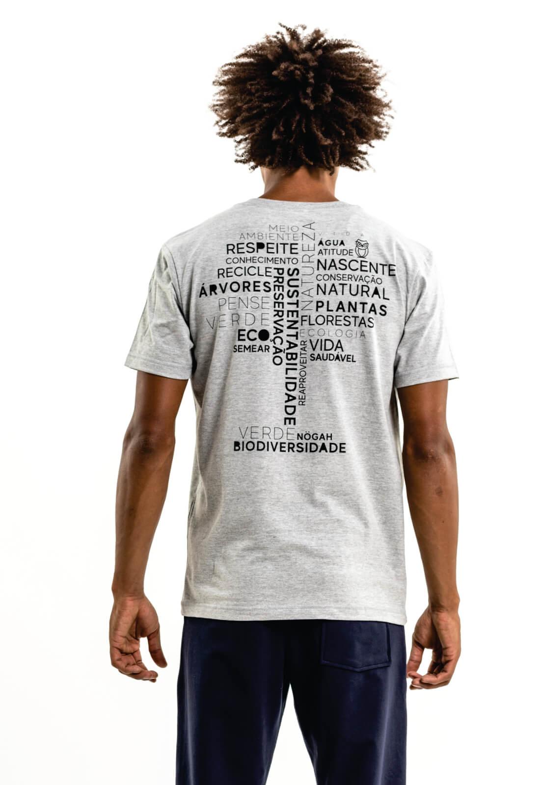 Camiseta Nogah Word Tree Mescla
