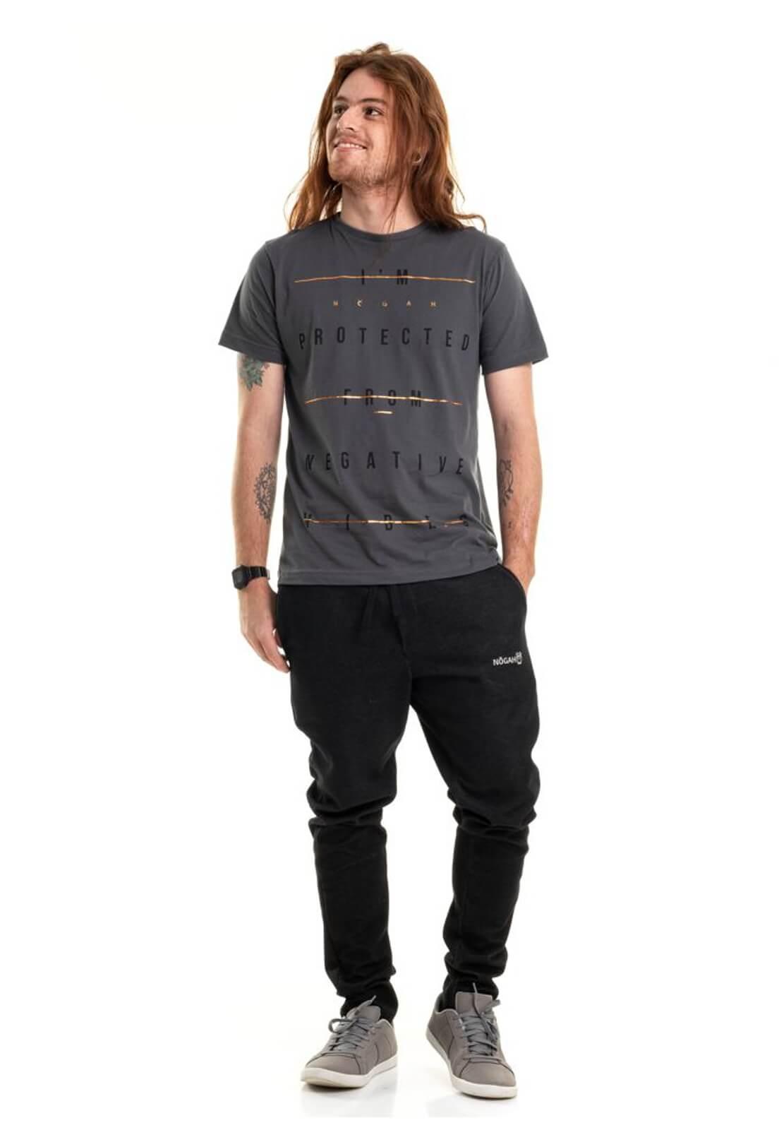 Camiseta Protection Vibes Cinza