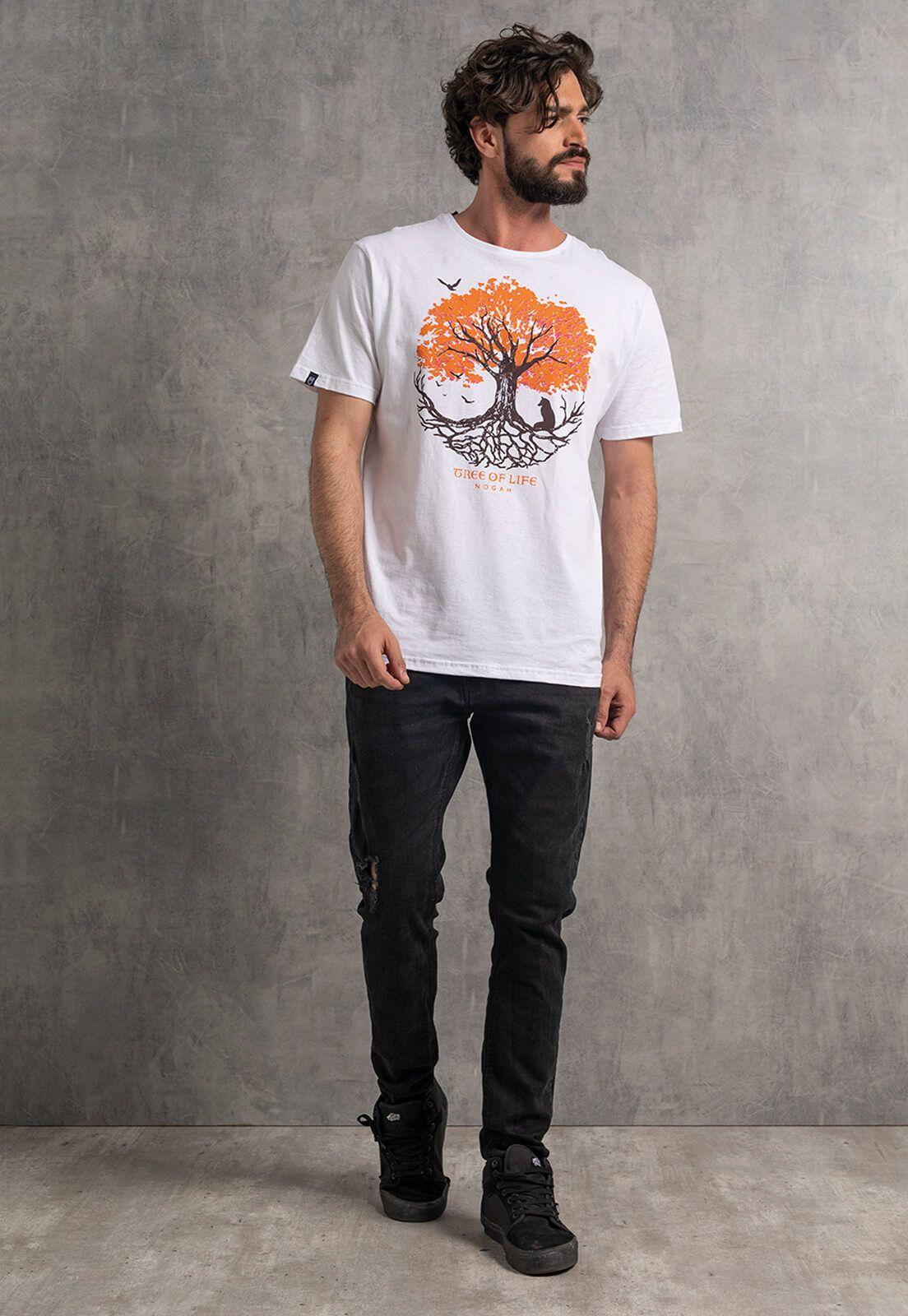 Camiseta Nogah Tree Round