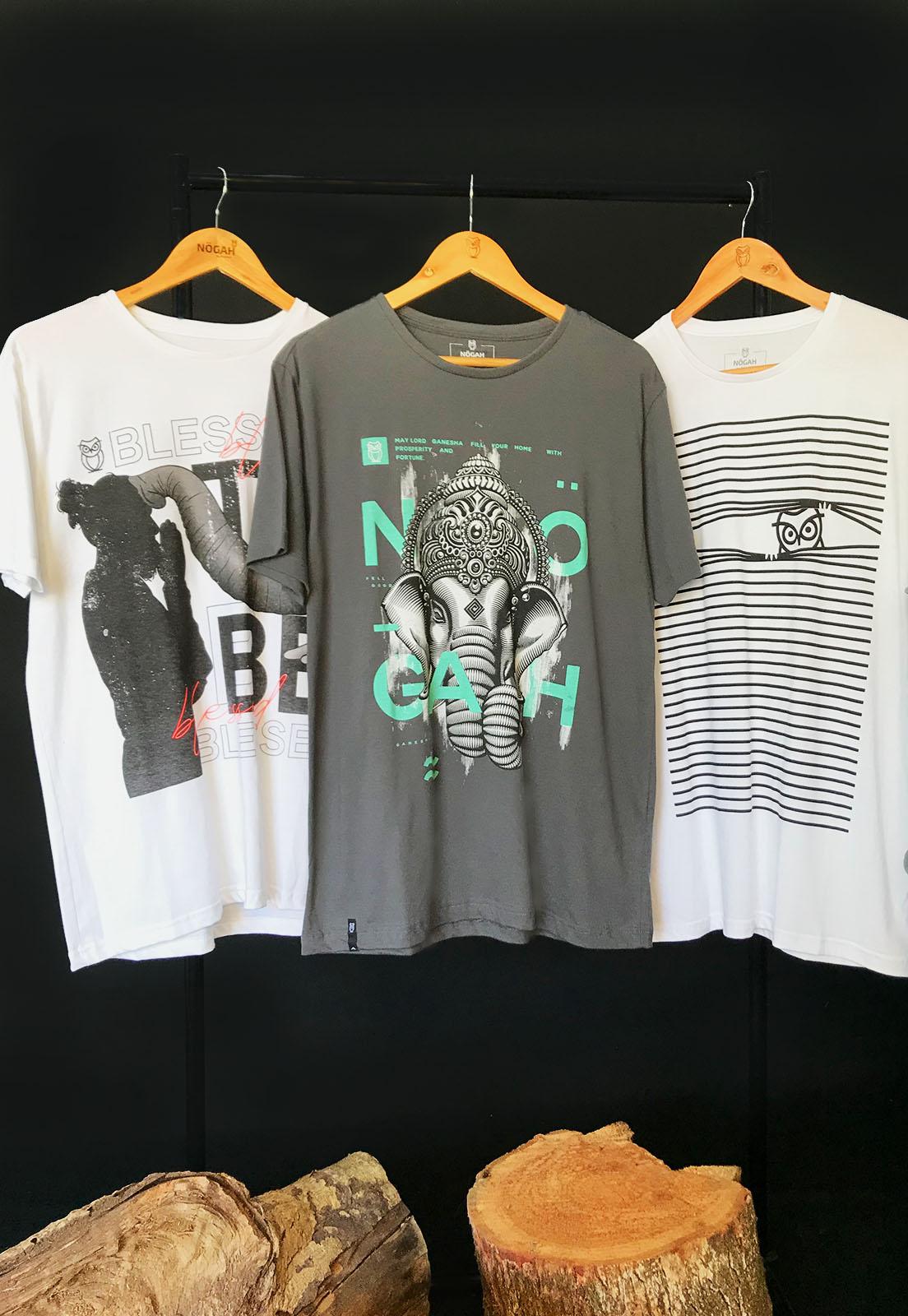 Kit Nogah Camisetas